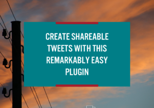 Create Shareable Tweets with this Remarkedly Easy Plugin | WPTechCafe.com